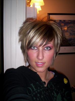 carré plongeant court(sans fair boule derriere) - hair 2008 / coiffure 2008